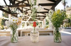 Love these flowers - Real Wedding: A Laid Back Cali Wedding