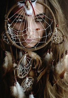 Native american women ... dreamcatcher