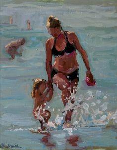 Little flower in the sea - Ellen Davidzon