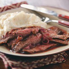 Healthy Gluten-Free Diabetic Friendly Grilled Flank Steak - Recipe
