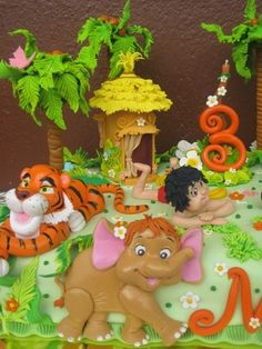 The Jungle Book By GaliaHristovaGuGi on CakeCentral.com