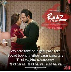 Yaad hai na @Raaz reboot