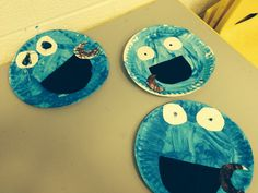 Cookie Monster for the letter C