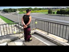 Poi Spinning Lesson: Turning with Behind the Back Weaves - YouTube