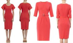 There are a number of possibilities for Kate's dress including Goat's Thea Dress. The £420 pencil dress is beautifully cut to fit and flatter, giving you a demure yet modern silhouette. It's fully lined with front pockets and flared angle sleeve. We also look at the designer's stylish Scarlett Pleat-Front Dress.