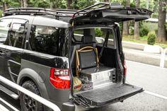 街乗りを考慮してラージSUVから、個性派コンパクトSUVに乗り換え。(HONDA/'03 ELEMENT) | アウトドアファッションのGO OUT Honda, Content, Vehicles, Car, Vehicle, Tools