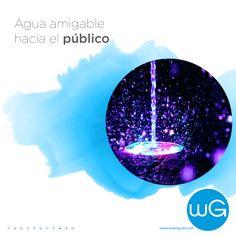 Nuestro compromiso es que todas nuestras fuentes generen una experiencia placentera, con agua que es amigable hacia el público y el medio ambiente por igual.