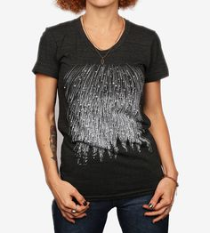 Women's Meteor Shower T-Shirt | Inspired by the beauty of the night sky as viewed from the unt... | T-Shirts
