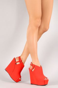 These wedges are a tangerine dream!