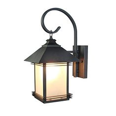 LNC Industrial Edison Vintage Style Loft One-Light Exterior Wall Lantern Outdoor Light Fixture,Black Finish with Glass Solar Garage Lights, Solar Wall Lights, Garage Lighting, Outdoor Wall Lighting, Wall Sconce Lighting, Wall Sconces, Lighting Ideas, Garage Light Fixtures, Outdoor Light Fixtures
