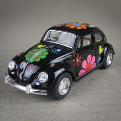 Beetle. Hippy Model Car. i want this, it's brilliant!