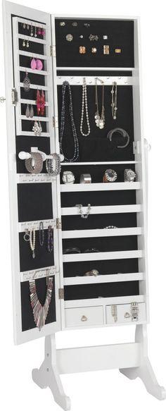schmuck schrank auf pinterest schmuckspiegel und schmuck schrank. Black Bedroom Furniture Sets. Home Design Ideas