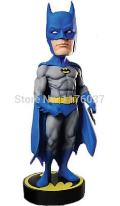 "Find More Action & Toy Figures Information about Vogue Classic DC Comics/Animation/Movie Super Hero Batman Head Knockers NECA 7"" Bobble Head Doll Toy New In Box,High Quality Action & Toy Figures from Paradise Island on Aliexpress.com"