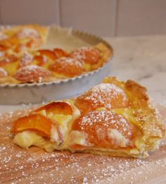 Tarte abricot vanille sans gluten