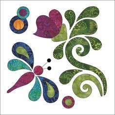 Zen Garden - Block #10 - Applique Pattern | Craftsy