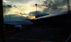 Need a flight   The First Flight to Stockholm_Vienna International Airport_Schwechat #tenuto_ #160129 #ViennaInternationalAirport #Schwechat #Österreich #Vienna #international #airport #Austria #sunrise #morning #AtlanticAirways #flight #plane #travel #trip #Stockholm #Sweden #비엔나국제공항  #비엔나 #빈 #오스트리아 #공항 #비행기 #항공 #여행 #아침 #일출 #스웨덴 #스톡홀름 by tenuto_