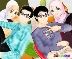 117 Best Couples Images In 2019 Anime Couples Islamic Art Muslim