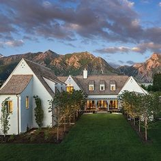 The perfect English country manor cozily tucked in the Wasatch Front.