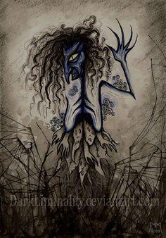 Black Annis by DarkLiminality.deviantart.com on @deviantART