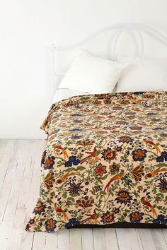 Simple, affordable bedrooms - requested bysupjustaaane    Perched Birds Tapestry Throw  by Urban Outfitters£35.00