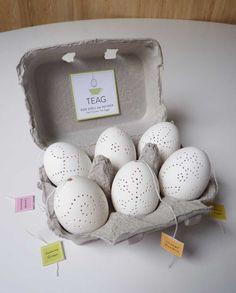 Teaster Egg Shell tea infuser TEAG Half Dozen Tea Egg Assortment Gift