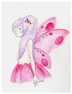 Fairy Magic Disney Characters, Fictional Characters, Aurora Sleeping Beauty, My Arts, Fairy, Magic, Colours, Watercolor, Ink