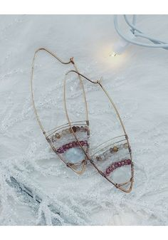 • CABANA GOLDEN SANDS EARRINGS - $113 • Check out all our holiday favorites in the 2016 Nashelle Gift Guide! • [one plate of food donated for every piece of jewelry sold] •