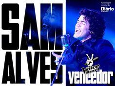 Sam Alves é o vencedor da 2ª edição do The Voice Brasil