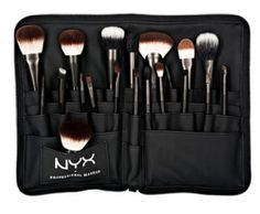 A girl can never have too many options. Click to shop over 20 different brushes in NYX's Pro Brush Collection!