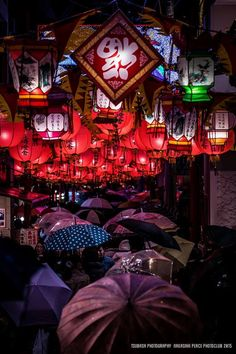 Nagasaki Lantern Festival, Japan | Tsubasa Yamauchi 雨の長崎