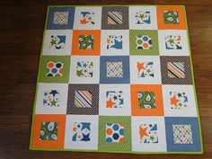 Simple Modern Baby Quilts