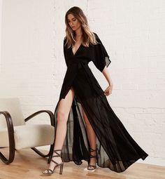 Black reformation dress