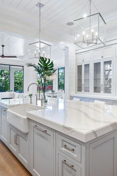 Cambria countertops are more durable than marble or granite, and are maintenance free. Discover Cambria Brittanicca for your next remodel project. Kitchen Redo, Home Decor Kitchen, Kitchen Interior, New Kitchen, Home Kitchens, Condo Kitchen Remodel, Grand Kitchen, Kitchen Small, Dream Kitchens