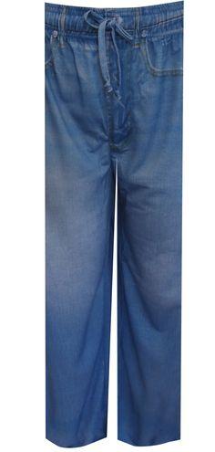 WebUndies.com Your Old Worn Out Favorite Jeans Lounge Pants
