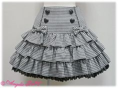 Candy Girl Skirt by Angelic Pretty Frocks For Girls, Kids Frocks, Little Girl Dresses, Girls Dresses, Baby Skirt, Baby Dress, Ruffle Skirt, Ruffles, Little Girl Fashion