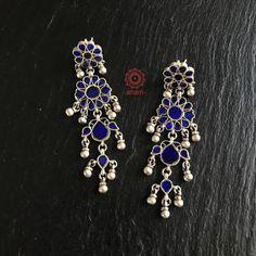Silver Jewellery Indian, Tribal Jewelry, Jewelry Art, Jewlery, Silver Jewelry, Jewelry Accessories, Fashion Jewelry, Gold Bridal Earrings, Silver Earrings
