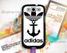 Adidas and Anchor - Print On Hard Case Samsung Galaxy S3 i9300