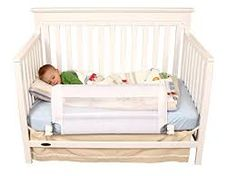 Regalo Swing Down Extra Long Convertible Crib Toddler Bed Rail Guard with Reinforced Anchor Safety System - Compare and Shop The Best Stuff Mattress World, Best Mattress, Air Mattress, Foam Mattress, Crib Bedding Sets, Nursery Bedding, Circle Bed, Bed Rails For Toddlers, Inflatable Bed