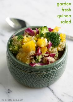 Quinoa, Mint and Dinner on Pinterest