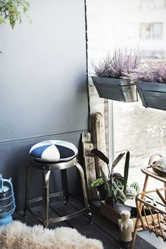 Home of Camilla Ebdrup, half of the Danish duo behind LuckyBoySunday, and her husband, photographer Andreas Stenmann.