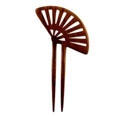 QueCraft Rosewood Jewelry Hairpin Handmade