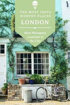 Ten of the most beautiful places in London for insta-worthy photography. London is full of pretty streets (West London), alleys full of hipster street art (Shoreditch), fresh, yet vintage markets (Borough Market) and renowned icons (such as Big Ben and St West London, Buckingham Palace, London Photography, Travel Photography, Rotterdam, Glasgow, Birmingham, Liverpool, Minions