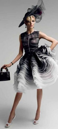 Anja Rubik in Dior by Patrick Demarchelier for Vogue Japan May 2012