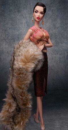 """Victoire Roux """"Place Vendome"""". Barbie fashion"""