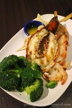 Grilled Lobster, Shrimp & Scallops @RedLobster Malaysia, Intermark Mall, Kuala Lumpur