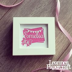 Cut your own personalised new baby / christening / name - paper cut mini TYSSLINGE template JPEG - COMMERCIAL License