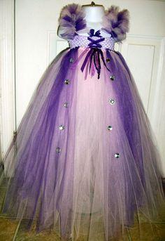Rapunzel princess tutu dress costume by GlitterprincessGalor