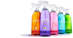 method. green, sustainable, recyclable, less packaging, natural fragrances, no nasty bleach, concentrated, non-toxic.
