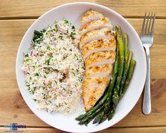 Jusia gotuje - szybkie, proste i smaczne przepisy dla całej rodziny.: Kuskus, pierś kurczaka i szparagi. / Couscous, chicken breast and asparagus.