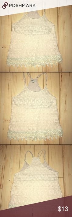 Spotted while shopping on Poshmark: Cozy Casual crocheted top! #poshmark #fashion #shopping #style #cozy casual #Tops